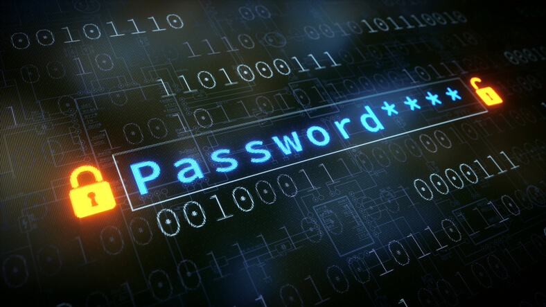 Password Input Field With Padlock